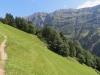 Pfad im steilen Hang im Krauchbachtal