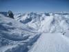 beim Abstieg  vom Weisshorn; wunderbare Winterlandschaft; Parpaner Schwarzhorn