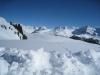 wunderbare Schneelandschaft; Davoser  Weissfluh 2843m,  Schiahorn 2709m, Chüpfenflue 2658m, Mederger Flue 2706m, hi Schafgrind 2636m, Tiejer Flue 2781m