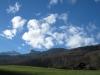 Sicht bei St. Ulrich ; Gauschla und Alvier