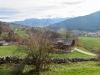 Blick gegen dsa Rheintal, Lichtenstein