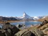 Stellisee 2537m, Matterhorn 4478m