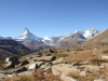Matterhorn 4478m, Dent Blanche, Obergabelhorn, Wellkuppe