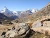 Matterhorn, Zmuttgletscher, Stellisee, Dent Blanche, Obergabelhorn