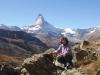 Marianne vor Matterhorn 4476m
