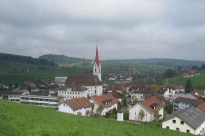 das Dorf Pfaffnau