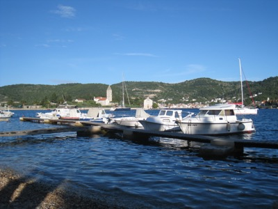 Hafen von Milna