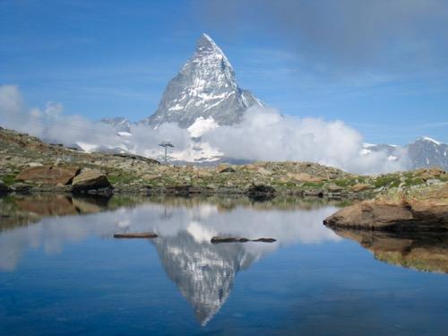 Seelein 2856m Obere Kelle mit Matterhorn 4478m