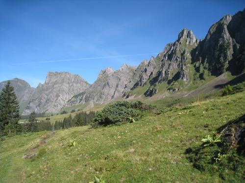 Sichelchamm 2259m, Gamsberg 2384m Isisixer Rosswis 2334 m, Fulfirst 2384m