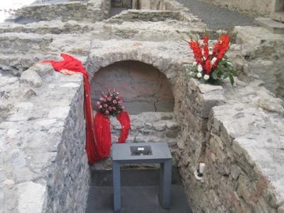 archäologische Stätte;  Grab des Mauritius