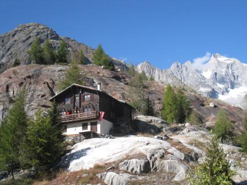 Burghütte 1746m; Kletterparadies