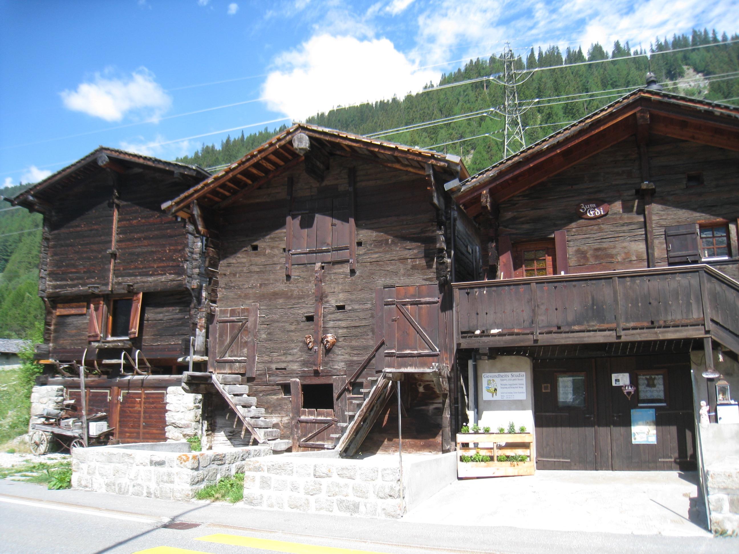 Stadel in Oberwald