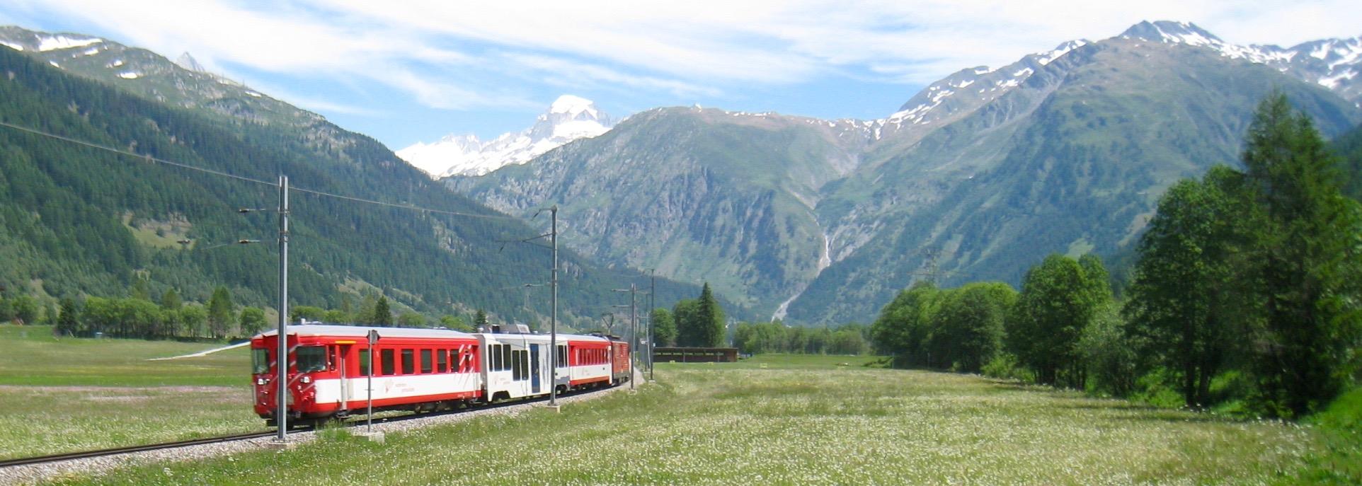 die Bahn mit Galenstock